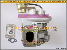 TD04 TD04-4 49389-02060 49389-02042 ME223610 ME226939 Turbo Turbocharger For Mitsubishi Truck 4M50 4M50T 4.9L Diesel Oil cooled