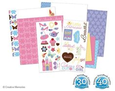 Fabulous All Girl Digital Additions for PC from Creative Memories  #digitalscrapbooking    www.creativememor...