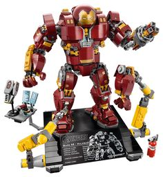 LEGO unveiled the much-awaited 76105 LEGO Marvel Super Heroes The Hulkbuster: Ultron Edition (whew!) at the New York Toy Fair earlier today. The set, based on Iron Man's Hulkbuster armor seen in Avengers: Age of Ultron, includes 1,363 pieces and an exclusive Iron Man minifigure, with availability from LEGO stores starting on March 3rd for …