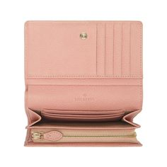 Tree French Purse in Rose Petal Small Classic Grain | family | Mulberry