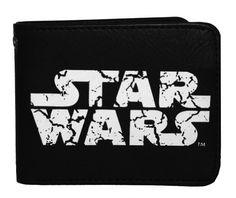 Star Wars Logo Distressed Movie Bifold Wallet by Star Wars. $14.85