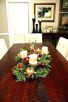 Phenomenal Top 25 Wonderful Christmas Dining Table Decoration Ideas Dexorate