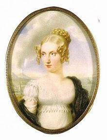 Clementina of Austria (1798 - 1881). Daughter of Francis I and Maria Theresa of Naples and Sicily. She married Leopold, Prince of Salerno, and had one daughter.