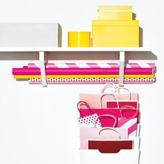 Compact Gift Wrapping Station