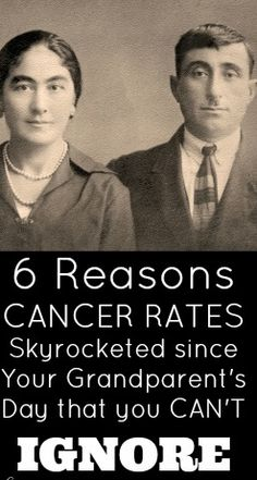 Health Freedom Alliance – 6 Reasons Cancer Rates have Skyrocketed since Your Grandparent's Day that you CAN'T Ignore.