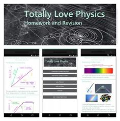 Physics GCSE homework and revision app on Android. Written for new 2018 GCSE specs.