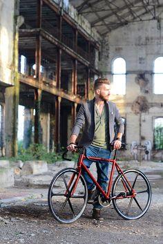 """BRN Fixed Bike - Red """"Cromovelata""""  www.bernardisrl.net"""