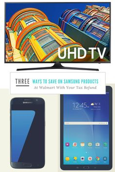 Three Ways To Save On Samsung Products At Walmart With Your Tax Refund. #SamsungAtWalmart #IC #save (ad) http://wp.me/p2mYyl-8MC