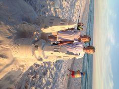 fun for kids in destin - love the sandcastle lesson idea!