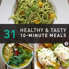 Healthy 10-Minute Recipes