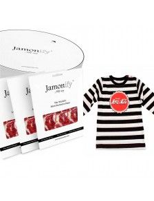 JAMONIFYER BABY SHIRT by Jamonify.com  GET TO THE TERRITORY OF THE MOST DELICIOUS FLAVOUR   Say congratulations to the new parents with our 100% natural preservative-free Pure Iberico Bellota Ham.