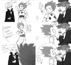 Killua, Gon, and Hisoka    ~Hunter X Hunter