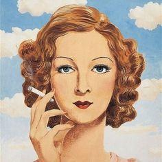 René Magritte, Georgette Magritte, 1934 on ArtStack #rene-magritte #art