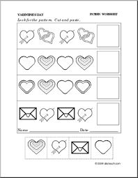best worksheets  valentines day images  preschool teaching  valentines worksheets kindergarten  buscar con google preschool worksheets  preschool math preschool printables