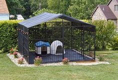 Dog Kennel on Pinterest | Dog Kennels, Outdoor Dog Kennel and Dog ...