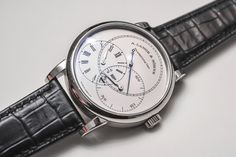 A. Lange & Söhne Richard Lange Jumping Seconds Watch Hands-On Hands-On