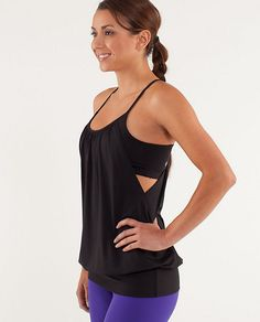 No Limits Tank - Lululemon - I have 3 of these. Functional, adorable and can handle amazing amounts of sweat! One of the best brands for workout gear!