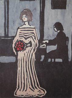 Wassily Kandinsky - The Singer 1903