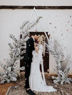 When Stars Align: Silvery Celestial + Rustic Elopement Inspiration in Australia's Only Monastic Town - Green Wedding Shoes Wedding Ceremony Ideas, Diy Wedding Flowers, Wedding Photos, Green Wedding, Arch Wedding, Wedding Backdrops, Ceremony Arch, Wedding Tips, Wedding Venues