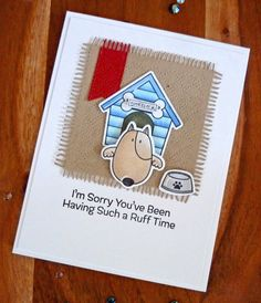 Cards-by-the-Sea: MFT and Lawn Fawn Harvest Mouse, Dog Cards, 4 Year Olds, Lawn Fawn, My Stamp, Happy Saturday, Cute Puppies, Sea, My Favorite Things