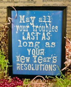 fun New Years eve Resolutions sign digital PDF  by Hudsonsholidays, $5.99