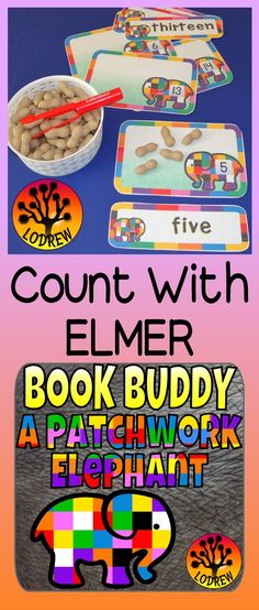 127 pages of Elmer Elephant themed centers. This resource contains follow-up activities (centers) for use after reading Elmer by David McKee. Centers include letter matching, beginning sounds, color words, shapes, visual discrimination, subitizing, counting, ten frames, cardinality, playdough mats, scissor skills, number sets, fine motor, literacy, math, and more. For kindergarten, preschool, SPED, child care, homeschool, or any early childhood setting.