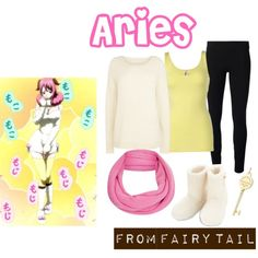 """""""Fairy Tail - Aries"""" by anime-couture on Polyvore"""