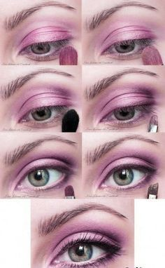 Easy step by step makeup. Set of 5 tutorials Flower Pictures, Nature Pictures, Makeup Set, Beauty Makeup, Eye Makeup Pictures, Makeup Pics, Nail Art Instagram, Eye Tutorial, Chrome Nails