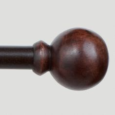 Wooden Ball Drapery Rods