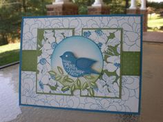 Spring Has Sprung Bluebird~ by stampin'nana - Cards and Paper Crafts at Splitcoaststampers