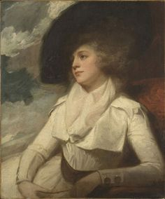 Unknown lady, ca. 1786. artist: George Romney (26 December 1734 – 15 November 1802) was an English portrait painter. He was the most fashionable artist of his day, painting many leading society figures - including his artistic muse, Emma Hamilton, mistress of Lord Nelson