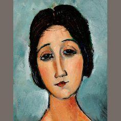 Amedeo Modigliani (1884-1920) Christina 80 x 69 cm. (31.5 x 27 1/8 in.) Sold for £1,546,650 inc. premium