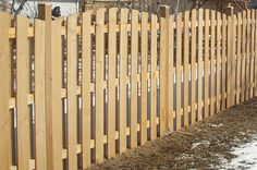Rustic Fences custom builds quality Western Red Cedar wood fencing for homes throughout Niles and Chicagoland. Call for installation or to buy lumber for your fence!