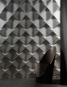 decorative wall panel with innovative texture