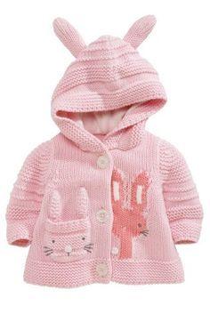 edbf59382 Buy Bunny Hooded Cardigan (0-18mths) from the Next UK online shop Tejidos