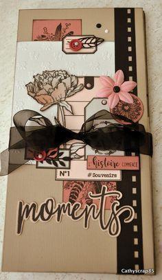 "Album ""Moments"" en Florilèges Design Mini Albums Scrap, Mini Scrapbook Albums, Handmade Scrapbook, Mini Photo, Tampons, Altered Books, Stamping Up, Creative Cards, Scrapbooking"