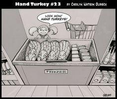 frozen turkeys