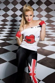 Tricou Mexton Red Lips White