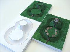 motte castle model - Google Search