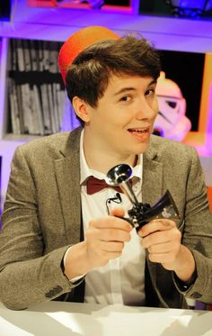 Dan Howell aka danisnotonfire as THE DOCTOR. This is a picture of my idol dressed as my idol...