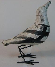 pájaros en AST mu-4 Dos pájaros animales personaje de bronce pájaros Frost Festival nuevo