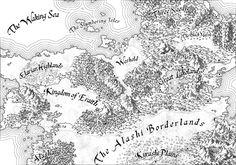 Ethantis - Fantasy Map by Cirias