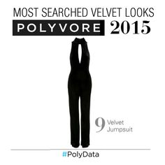 """""""PolyData: #9 Hottest Search, Velvet Jumpsuit"""" by polyvore ❤ liked on Polyvore featuring Topshop and polydata"""