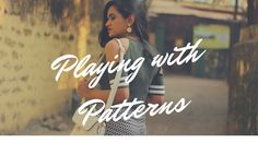 Love crop tops and pants , here you go on inspiration on how to pair up different patterns