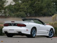 Pontiac Firebird Convertible | Pictures of Pontiac Firebird Trans Am Convertible 30th Anniversary ...