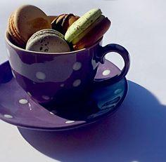 レシピとお料理がひらめくSnapDish - 13件のもぐもぐ - Macarons for tea or in tea????? by DouxAmour. Visit me on facebook for more ;) by Carol Chung