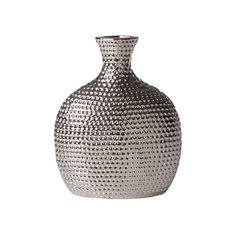 You shy away from the ordinary, as well you should. Yet you love the look of simplicity. Are we right? Take home this Pharaoh Ceramic Vase and add a compelling accent to a casual space. It's got a fun ...  Find the Pharaoh Ceramic Vase, as seen in the Mid-Century Luxe Collection at http://dotandbo.com/collections/mid-century-luxe?utm_source=pinterest&utm_medium=organic&db_sku=106017