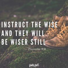 """Instruct the wise and they will be wiser still;teach the righteous and they will add to theirlearning. —Proverbs 9:9 Most professional voice coaches recommend not to startvocal training until age thirteen or fourteen. The voiceis a product of working the right muscles that develop andmature right along with the rest of the body. For most<a href=""""http://www.faithgateway.com/training-in-the-wilderness/"""" title=""""Read more"""" >...</a>"""