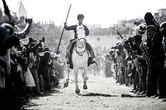 Hola (Jaskiran Singh Batra) Tags: horse india black sports festival photography nikon chaos crowd telephoto level shade festivity turban sikh punjab nikkor blacknwhite rider whitehorse punjabi hola 70200mm 2015 anandpur anandpursahib nihang tentpegging nihung jaskiran mohalla jaskiransinghbatra