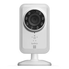 NetCam Wifi Camera with Night vision The Belkin NetCam Wi-Fi Camera with Night Vision makes it easy to check in on your kids after school or watch your pet at play--right on your mobile device. The camera connects to your Wi-Fi router without the need of a computer.      Simply download the free NetCam app on your iOS or Android device to keep an eye on your home anytime, anywhere.